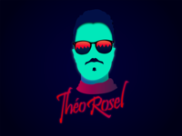Retro Portrait - Theo Rosel