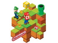 Isometric Mario Bros