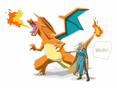 Charizard+Daenerys