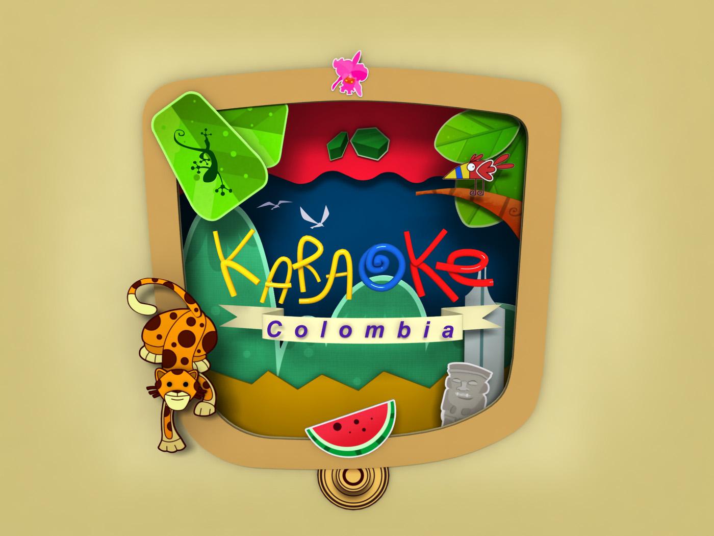 Karaoke Colombia 03 illustration 3dsmax 3d
