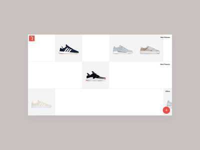 Fluid Grid branding design ui website products transition fluidity animation smooth animation smooth shop e-commerce fashion layout grid fluid