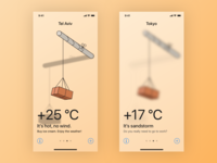Weather Forecasting Brick app