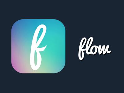 Flow icon concept