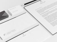 Lawyer Stationery identity