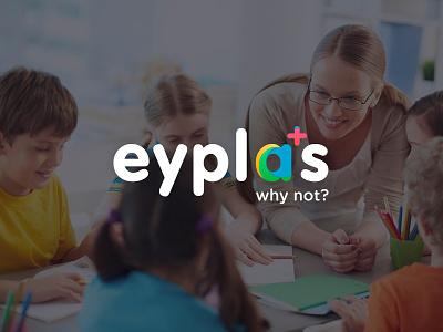 Logo for Eyplas gradient creative colorful color brand branding logotype visual identity identity design art logo