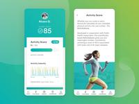 ActiveLife by Fitsense — App UI Design