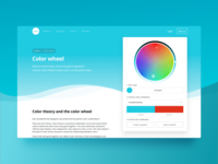 Color Wheel Tool | Landing Page