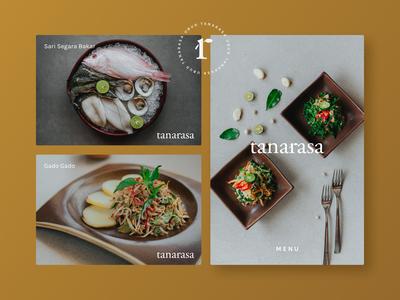 Restaurant Branding for Tanarasa, Bali