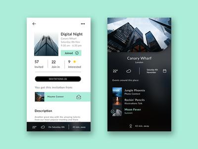 Exclusive Events App