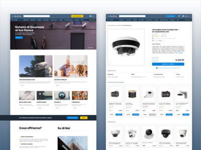 eCommerce B2B - Security Systems