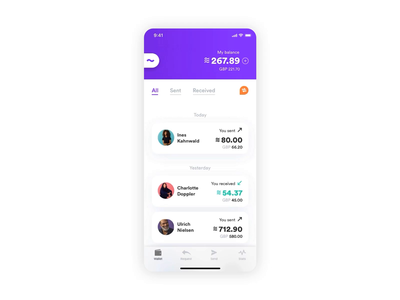 Calibra — Sending Money