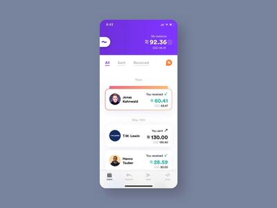 Calibra — Receiving Money