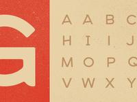 New Typeface 01