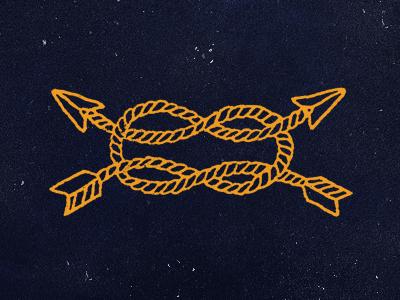 Huntsman blksmith smith texture nautical arrow illustration