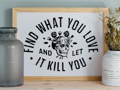 Lovekills print