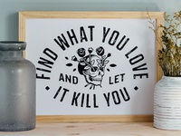 Love Kills Print