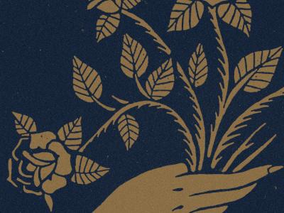 Thorns blksmith illustration texture floral