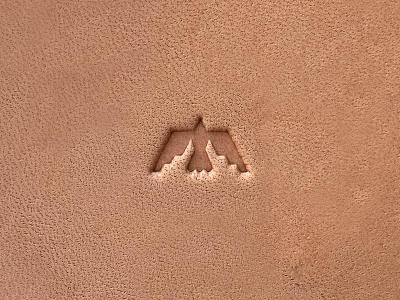 Woodlark - Mark icon leather mark logo blksmith