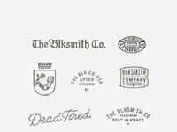 Blk makersmarks detail