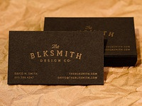 BlkSmith Design Co. Cards