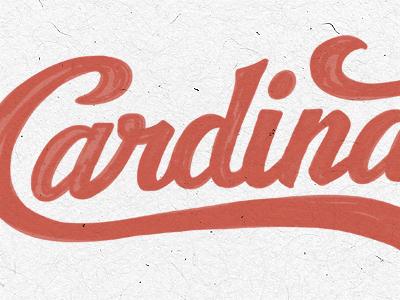 Cardinal dribbble