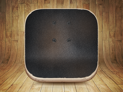 Skateboard App Icon - Skated skateboard icon app ios7 anamorphic grip tape deck skate board