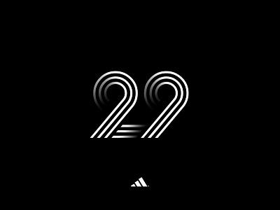 The Twenty Nine. 29 adidas design type
