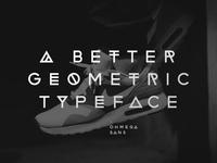 Ohmega Sans - Typeface