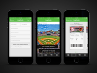 LeapSeats iOS7 mock-up