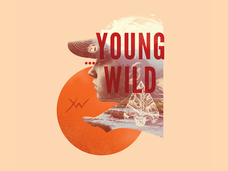 YoungWild Concept Art 01 young wild arrowhead ram deer horse animals tv show arrow bow typography photo collage hunting