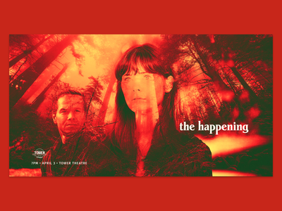 The Happening Screening Promo