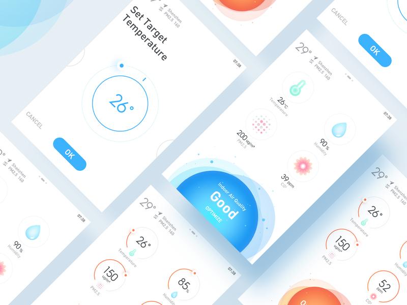 Smart Home smart home clean ux design ui