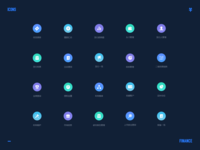 Set of investment icons
