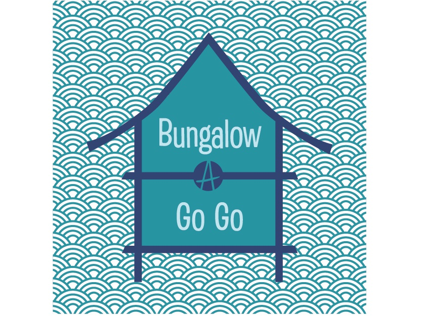 Bungalow a go go turquoise 01