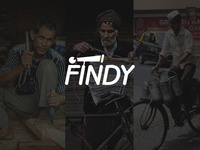 Logotype for Findy (Mobile Application)