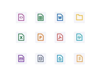 Files & Folder Icon