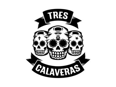 Tres Calaveras - Logo