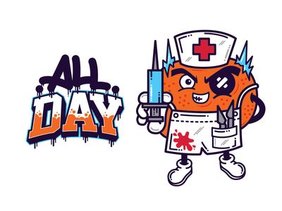 Dr Mandarin - All Day