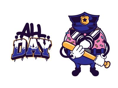 Officer Donut - All Day