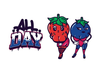 Berry Girls - All Day