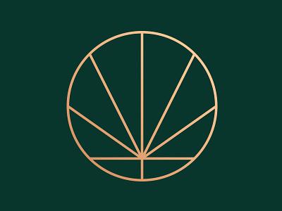 Everything's OK Watermark dreamcatcher cannabis badge graphic design logo illustration weed oklahoma dispensary branding brand