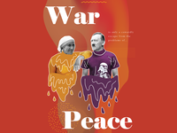 War and peace banner