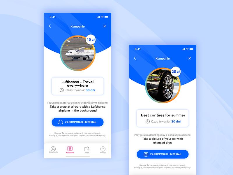 Redesign concept for start up minimal app branding geometric art creative ux ui typography material gradient clean illustration flat vector design