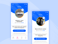 Redesign concept for start up