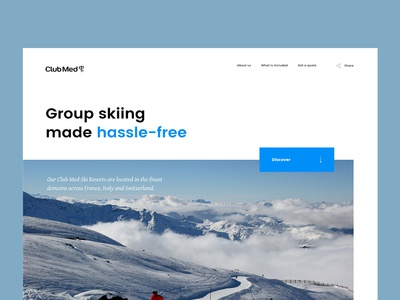 ClubMed group skiing ski resort alps winter sports clubmed skiing tourism