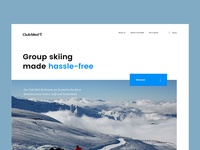 ClubMed group skiing