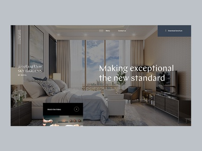 Real estate pitch appartment loft middle east luxury brand real estate agent real estate