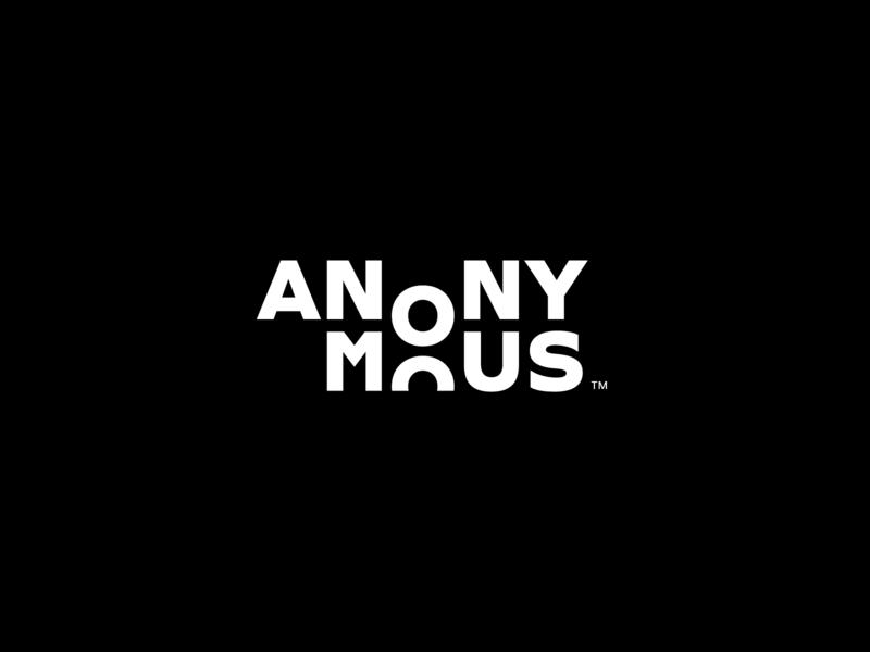 Anonymous branding branding design charity logotype logo design logo