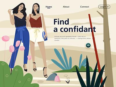 friendship friendship typography illustration