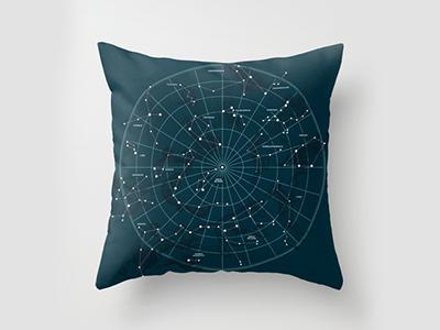 Space Hangout Pillow